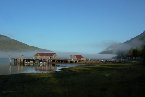 Cassiar Cannery -dock to NP