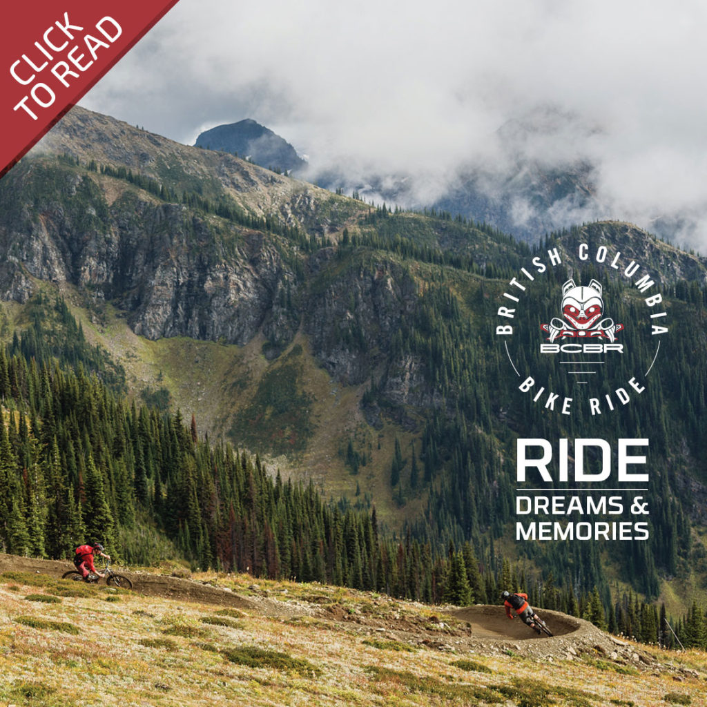 BC Bike Ride - Book